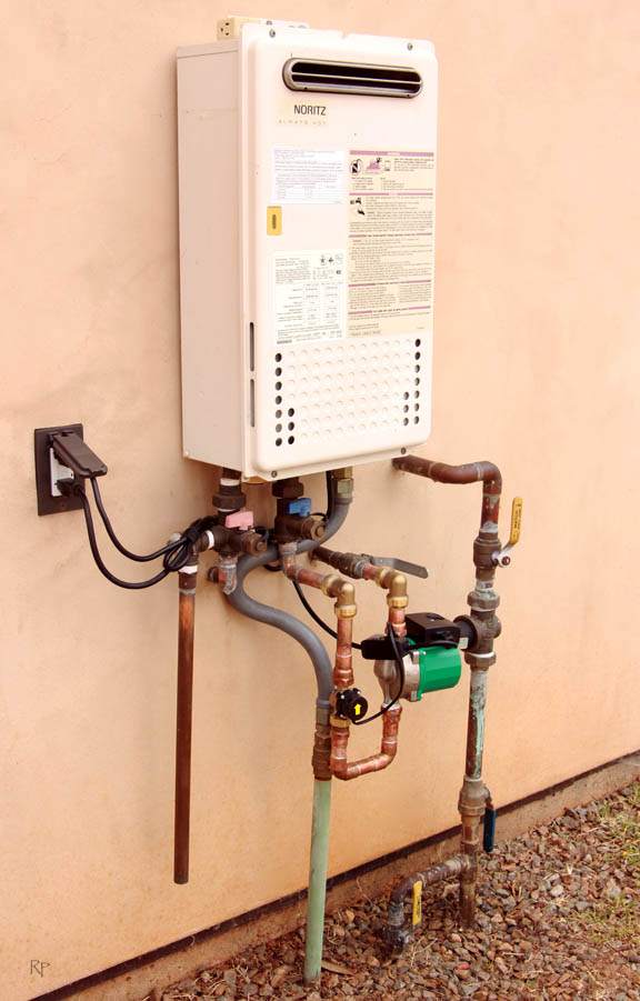 how to turn off hot water system rheem