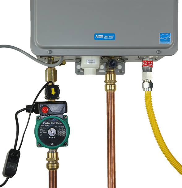 Picture Of Hot Water Circulation Pump For A Tankless Heater